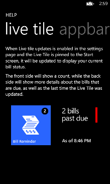 Bill Reminder Screenshot 11